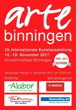 arteBINNINGEN_2017_Flyer