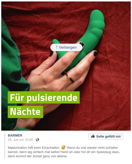 BARMER_Facebook_Masturbation